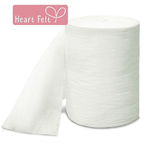 Heart Felt Bamboo Cloth Diaper Liners, 100 Sheets
