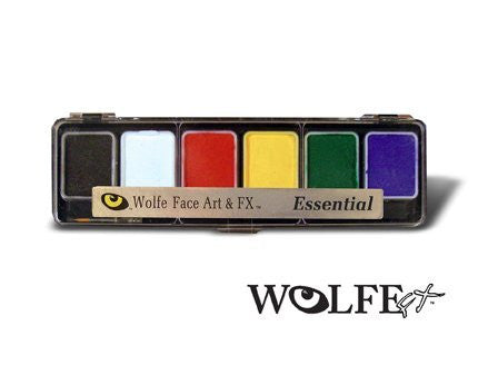 Wolfe 6 Color Palette/Face Paint Kit (Essentials)