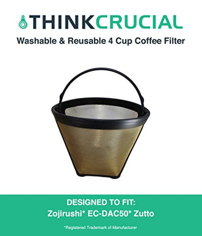 Zojirushi 4 Cup Gold Tone Coffee Filter