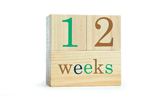 BB Blocks Woodlands: Baby Age Photo Blocks (Weekly, Monthly and Yearly Pictures Now with Grade)