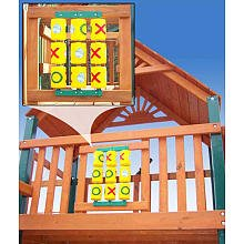 Gorilla Playsets Tic Tac Toe Spinner