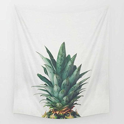 YOUSA Pineapple Design Wall Hanging Tapestry Beach Towel Picnic Shawl Blanket 51''x59''