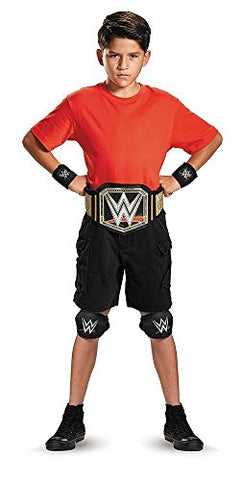 Disguise WWE Championship Belt Child Costume Kit, One Size Child, One Color