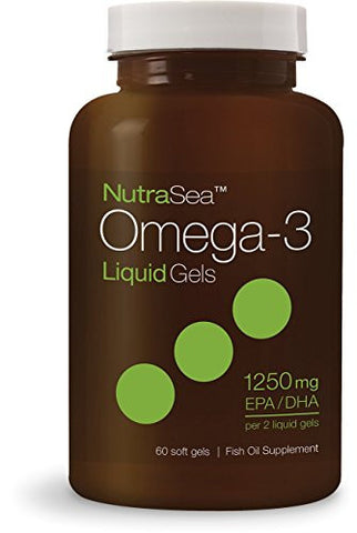 Ascenta Nutrasea Omega-3 Mint Supplement, 60 Count