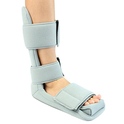 Plantar Fasciitis Night Splint by Vive - Soft Medical Brace Boot for Heel Spurs, Foot Pain, Heel Pain, Achilles Inflammation & Soreness Relief