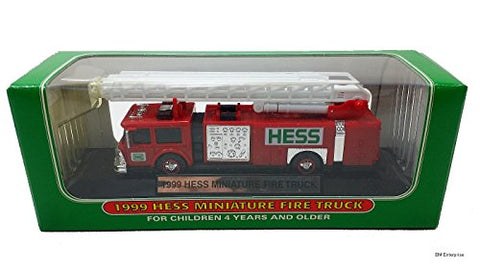 1999 Hess Minature Toy Fire Truck