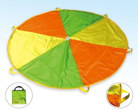 POCO DIVO 6-ft Play Parachute Kids Funchute Children Canopy Wind Tent with 6 Handles