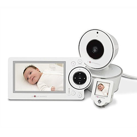 Project Nursery 4.3 Video Baby Monitor System with Convenient 1.5 Mini Monitor