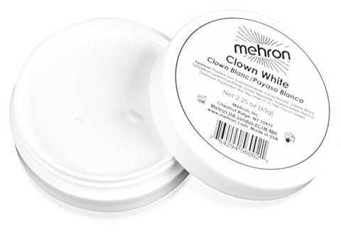 Mehron Makeup Clown White - 2.25 Ounce