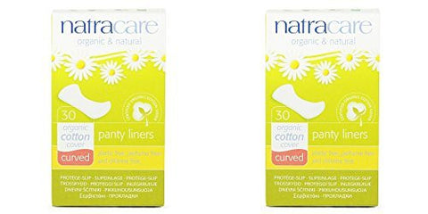 - Natracare Natural Panty Liners Curved | 30s | - SUPER SAVER - SAVE MONEY