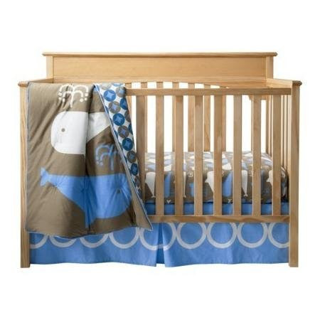 Room 365 3 Piece Crib Set Whales Collection