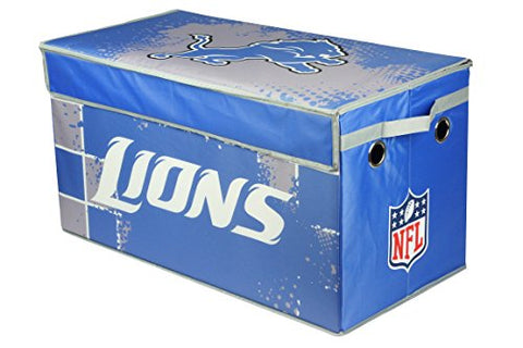 NFL Detriot Lions Collapsible Storage Trunk