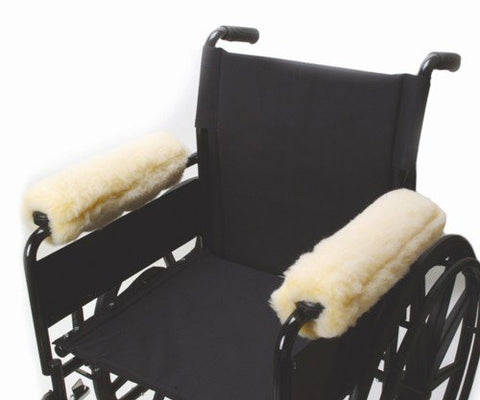 Allman Fleece Wheelchair Arm Cushions 10 (pair)