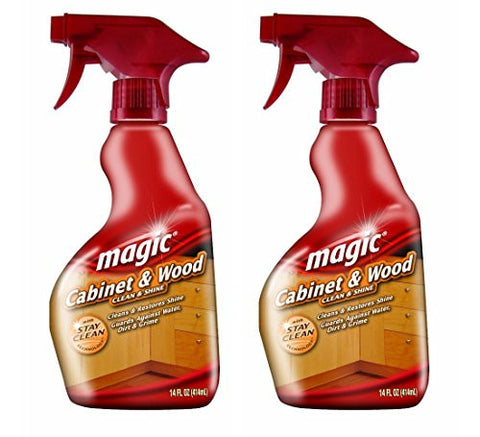 Magic Cabinet and Wood Cleaner, 14 Ounce
