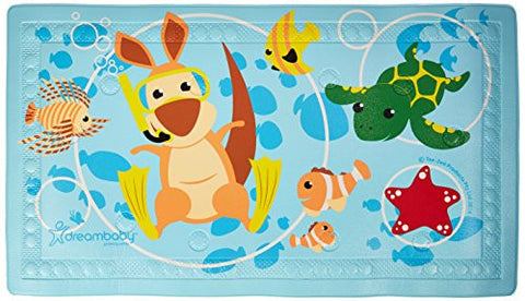 Dreambaby Anti-Slip Bath Mat with Too Hot Indicator