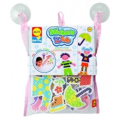 ALEX Toys Rub a Dub Stickers for the Tub Playtime Pals