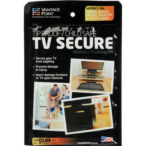 Vantage Point Tv Secure Adhesive Mounting Kit