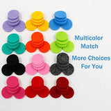 22mm Replacement Refill Pads(60PCS) For Essential Oil Diffuser Necklace-Fit for 30mm Aroma Stainless Steel Locket Pendant 12 Colors