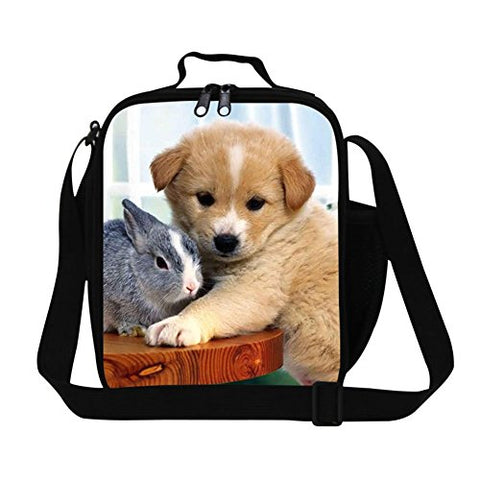 Generic Fashionable Dog Lunch Bags for Kids School Adult Food Bag Personalized Work Lunch Bag
