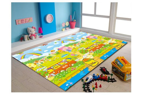 MyLine Baby PlayMat_Happy Chicks/Animal ABC-Extra Thick