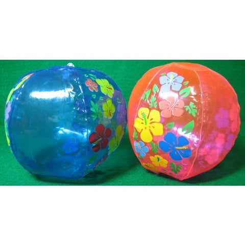 Inflatable Hibiscus Beach Balls,
