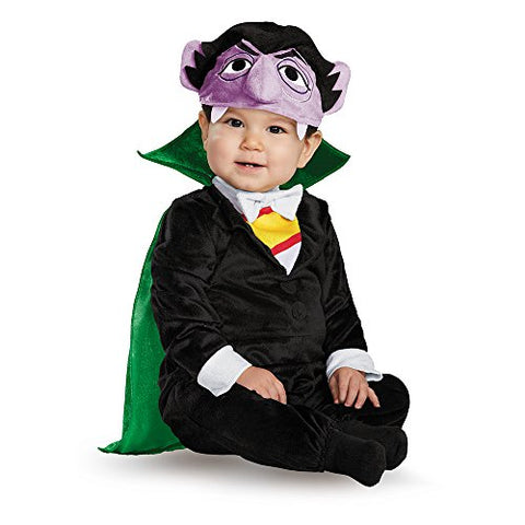 Disguise 86516S Count Deluxe Toddler Costume, Small (2T)