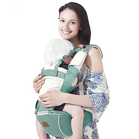 Bebamour New Style Designer Sling and Baby Carrier 2 in 1 ,Green