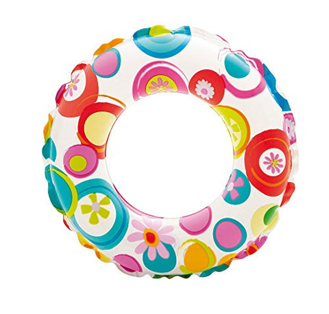 Intex Recreation 59230EP Lively Print Swim Ring 20, assorted designs