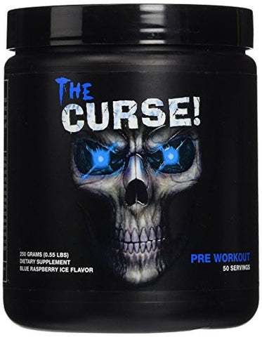 Cobra Labs The Curse Weight Loss Supplement, Blue Raspberry Ice, 0.55 Pound