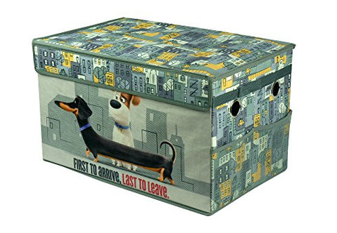 Universal Secret Life Of Pets Foldable Canvas Toy Box