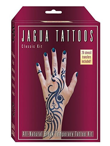 Organic Jagua Plum Temporary Tattoo and Body Painting Kit. Safe for Children and Made in the USA. Enough Jagua Gel for 12-15 Designs and Applications Last...