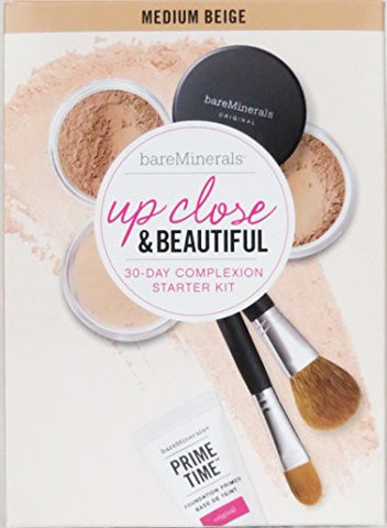 bareMinerals Up Close & Beautiful 30-Day Complexion Starter Kit (Medium Beige)