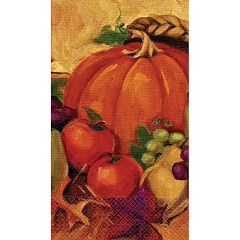 Harvest Still Life Thanksgiving Party Guest Paper Towels Tableware, 4  x of 16