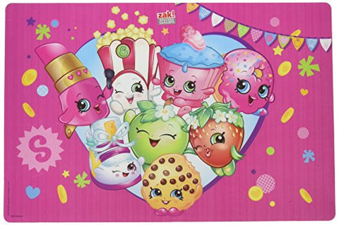 Zak Designs SHPA-1300 Shopkins Placemat, Multicolor