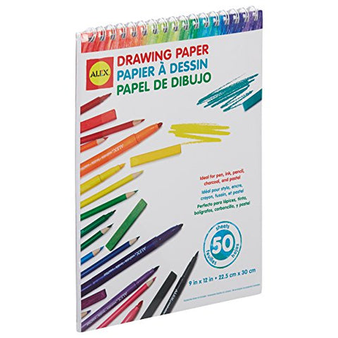 ALEX Toys Artist Studio Drawing Paper – 50 Sheets