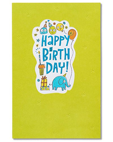 American Greetings Be Happy Birthday Card with Foil (5801276)