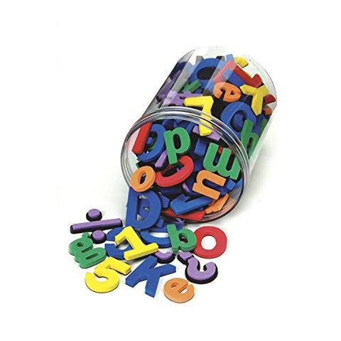 Chenille Kraft 4357 Wonderfoam Magnetic Alphabet Letters, Assorted Colors. 105/Pack (CKC4357)