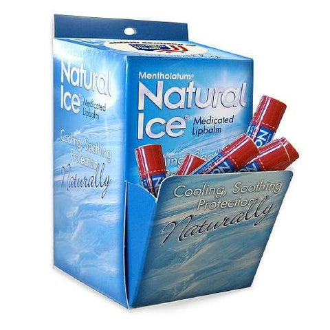 Natural Ice Medicated Lip Protectant/Sunscreen SPF 15, Cherry 48 ea