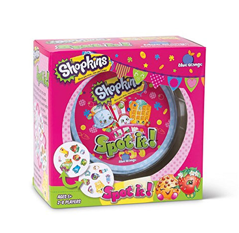 Spot It Shopkins Card Game