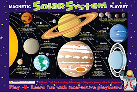 Ata-Boy Magnetic Solar System Play-n-Learn Board