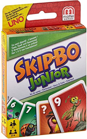 Skip-Bo Junior Card Game