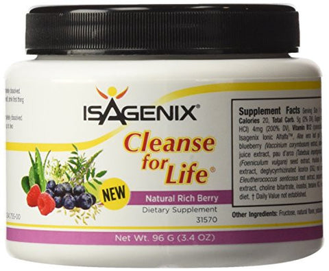 Isagenix Cleanse for Life Rich Berry Powder 96 g/(3.4 oz)