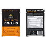 Ancient Nutrition Bone Broth Protein, Chocolate Flavor, 15 Count - Single Serving Packets of All-Natural, Gut-Friendly, Paleo-Friendly Protein Powder