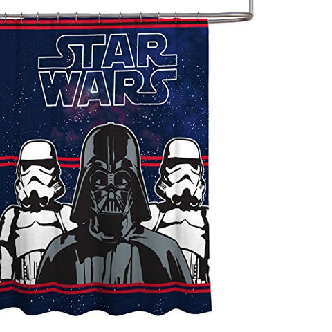 Star Wars Darth Vader Microfiber 70  x 72  Fabric Shower Curtain