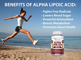 Alpha Lipoic Acid Supplement 600mg Capsules - Potent Natural Antioxidant Formula To Lower Blood Sugar, Defend Against Free Radicals & Promote Cardiovascular Heart Health