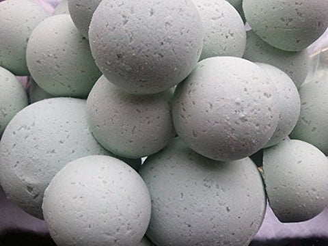 Spa Girl 14 Bath Bomb Fizzies with Shea Butter, Ultra Moisturizing (12 Oz) ...Great for Dry Skin (Love Spell type (W))