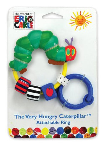 World of Eric Carle, The Very Hungry Caterpillar Attachable Bead Rattle