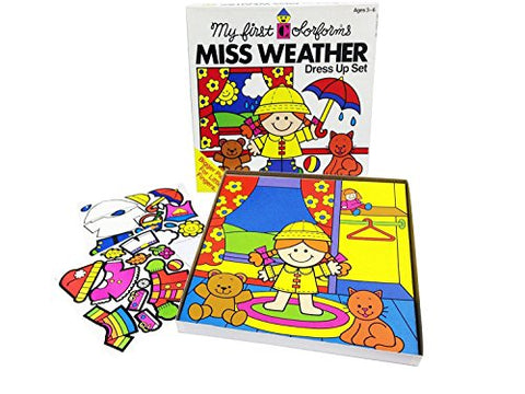 My First Colorforms - Miss Weather Dress up Set