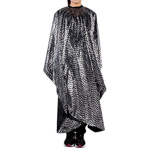 Docooler® Waterproof Hair Salon Cape Hairdressing Styling Apron Cloth Cape Black