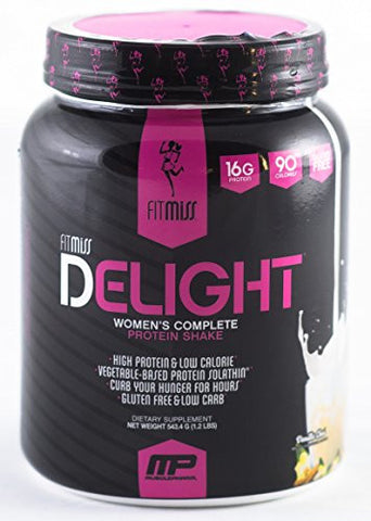 FitMiss Delight Healthy Nutrition Shake for Women, Vanilla Chai, 1.2 Pound